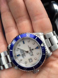 Rolex Submariner Steel Diamonds & Sapphires - White MOP
