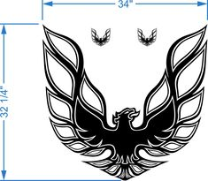 Image result for 1975-1979 pontiac fairbird/trans am  emblems