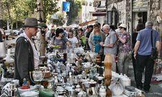Блошиный рынок в Хайфе