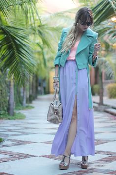 pastel color block