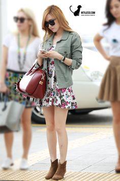 SNSD Jessica Airport Fashion 130719 2013