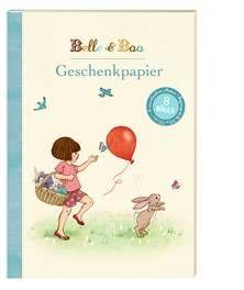 Belle & Boo: Geschenkpapierbuch. Feine Verpackung: Belle und Boo bereiten ganz bestimmt schon vor dem Auspacken Freude.