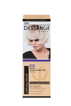 The 61-year-old Dessange Paris is another French cult brand to put on your radar (Brigitte Bardot was even a regular client of founder Jacques Dessange!) Its color-correcting creme, exclusive to Target, is a dream for all of the color-treated blondes out there. Formulated with linseed oil and blue pigments, it helps nourish and protect hair color.