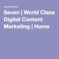 is a digital content marketing leader. the things they like, think and do. World Class, Content Marketing, Digital