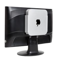 Free up precious desk space and keep your Apple Mac mini safely hidden with the HIDEit MiniU Wall Mount! The HIDEit Mac mini Mount is a wall, under the Apple Mac, All You Need Is, New Mac Mini, Vesa Mount, Drywall Screws, Silver Walls, Desk Setup, Office Setup, Office Organization
