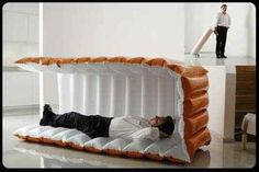 Or just go for broke and get an inflatable nap pod. | 22 Ingenious Products That Will Make Your Workday So Much Better