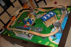 Imaginarium City Central Train Table in Great Big ToysRUs Play Book ...