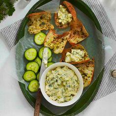 Cucumber-Basil Egg Salad - use paleo mayonnaise