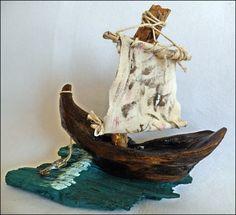 Driftwood Pirate Ship ...www.facebook.com/groups/ergeturkaydin/
