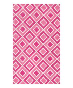 Love this Pink Diamonds Zoey Rug on #zulily! #zulilyfinds