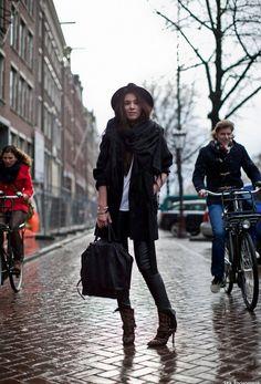 Cindy in Amsterdam