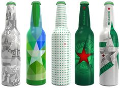 Heineken design bottles 5 finalists of the Your Future Bottle Contest 2012-2013
