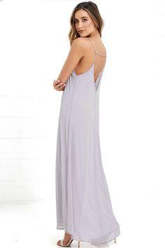 High Regard Light Grey Maxi Dress at Lulus.com!