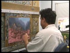 A behind the scenes look at Thomas Kinkade as he paints his masterwork Twilight Cottage. Thom paints from blank canvas to the completed painting. An amazing ...
