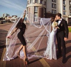 This is so gonna be me and you I hope that I'll be your maid of honor lol I know you definitely will be at mine!