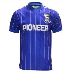 Ipswich Town 1981 UEFA Cup winners - replica shirt