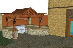 Outdoor Kitchen Plans Pdf: Free Outdoor Kitchen Plans Barbecues