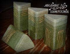 cold-process gradient soap