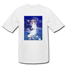 Water Moon Kuan Yin - Men's Tall T-Shirt Take $5 off all order of $30 or more