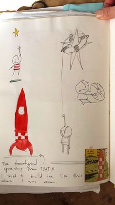 A look at how Oliver Jeffers created his book How to Catch a Falling Star. Really cool. I am a big fan of Oliver's art style.