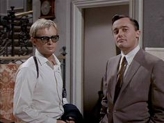 """David McCallum and Robert Vaughn in """"The Man From U.N.C.L.E."""" Man From Uncle Tv, Robert Vaughn, Napoleon Solo, History Of Television, David Mccallum, The Good Old Days, Detective, Tv Series, 1960s"""