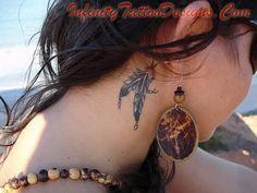 feather tattoo tumblr - Google Search