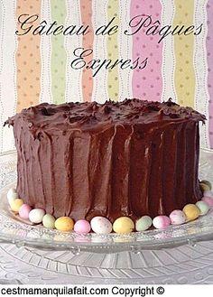Gateau au chocolat de paques (4) chocolate french easter ca