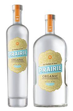 Prairie Vodka - love the beauty of this label. Good job OLSON