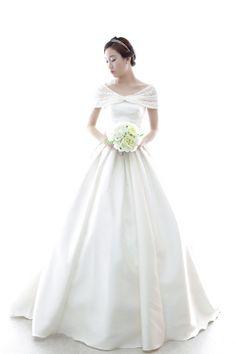 2015년 봄 신상 웨딩드레스 K-22 [라렌느] 셀프웨딩드레스