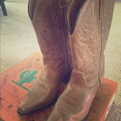 Laredo Women's Western Boots Size 7.5 Western / Cowboy boots. Worn twice. Great condition. Size 7.5 women's. In original box and packaging! Laredo Shoes Heeled Boots