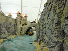 Bineta es diorama de Playmobil tan impactacnte que cuesta de creer. Una ciudad…