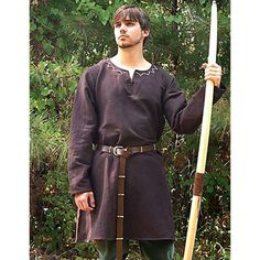 Huntingdon Under Tunic: Renaissance Costumes, Medieval Clothing, Madrigal Costume: The Tudor Shoppe Renaissance Costume, Medieval Costume, Renaissance Clothing, Medieval Fashion, Renaissance Fair, Medieval Tunic, Larp, Mens Tunic, Viking Clothing