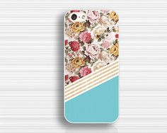 The peony figure caseIPhone 4 casepeony  4s by case7style on Etsy, $9.99