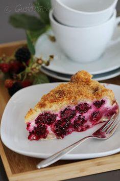Gustostückerl : Brombeer Topfen Torte // Blackberry Quark Tarte Enjoy The Little Things, Make An Effort, French Toast, Breakfast, Sweet, Food, Pie, Cake Receipe, Kochen