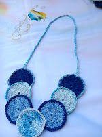ABruxinhaCoisasGirasdaCarmita: Colar crochet(minha coleção)