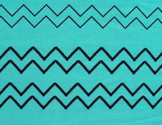 I'd need to check if they have more yardage.  poly crepe fabric - black chevron on turquoise blue - PCR017 - 1 yard. $8.50, via Etsy.