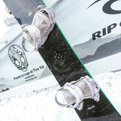 My baby : Ride Hellcat snowboard & Ride DVA nude bindings