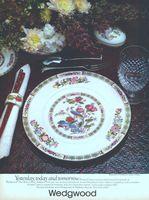 Wedgewood Kutani Crane China 1978 Ad Picture