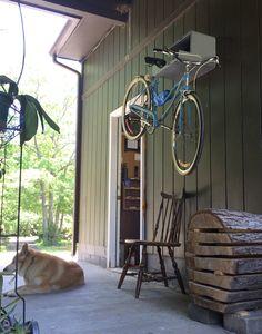 Long term bike hanger testing - For more great pics, follow www.bikeengines.com
