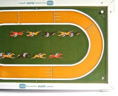 Vintage Horse Race Game  Family Board Game by DairyFarmAntiques