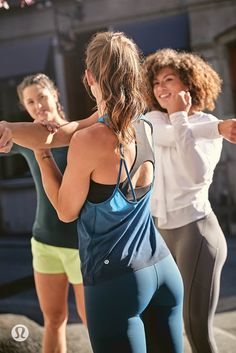 Ventilated lululemon tops that keep you cool as summer training heats up.