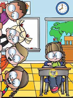 School Daze, English Lessons, Crochet Animals, Kids And Parenting, Clip Art, Classroom, Cartoon, Cool Stuff, Learning