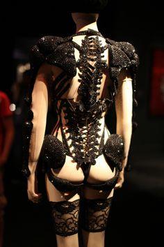 Jean Paul Gaultier Skeleton Corset