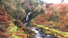 France House Hunt - YouTube - waterfall in Galloway Forest...lovely setting.