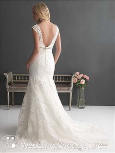 Bridal Gowns Allure Romance 2663 Bridal Gown Image 2