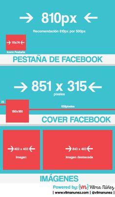 Medidas para páginas de fans en Facebook vía @Vivi Nunez