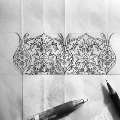 Borders for my calligraphy