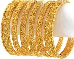beautiful gold bangles.....