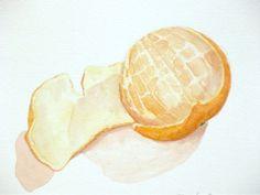 mandarin small still life watercolor wall art tangerine by ollina