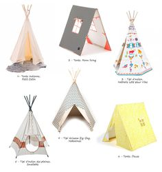 Teepees for kids selection